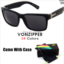 Von Zipper Sunglasses 2014 Fashion Sporting Brand Vonzipper Cycling Glasses Men Bycicle Goggles Lenses Ciclismo Gafas With Box