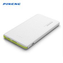 PINENG 5000mAh Mobile Power Bank Fast Charging External Battery Portable Charger Li-polymer Battery 5000 For iPhone iPad Xiaomi(China)