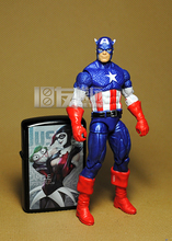 Limited ! 10CM High Classic Toy  Marvel heroes Avengers   action figure joint  Captain America  action figure Toys Free shipping