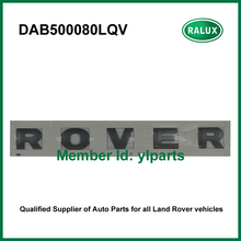 DAB500080LQV front metallic car name plate for LR Discovery 3/4 auto brand letter sticker aftermarket parts factory promotion