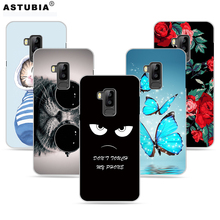 ASTUBIA Case For Bluboo S8 5.7 Case For Bluboo s8 Cover Case Flower Socks Cat Hard Plastic Cover For Bluboo s8 Mobile Phone Case(China)