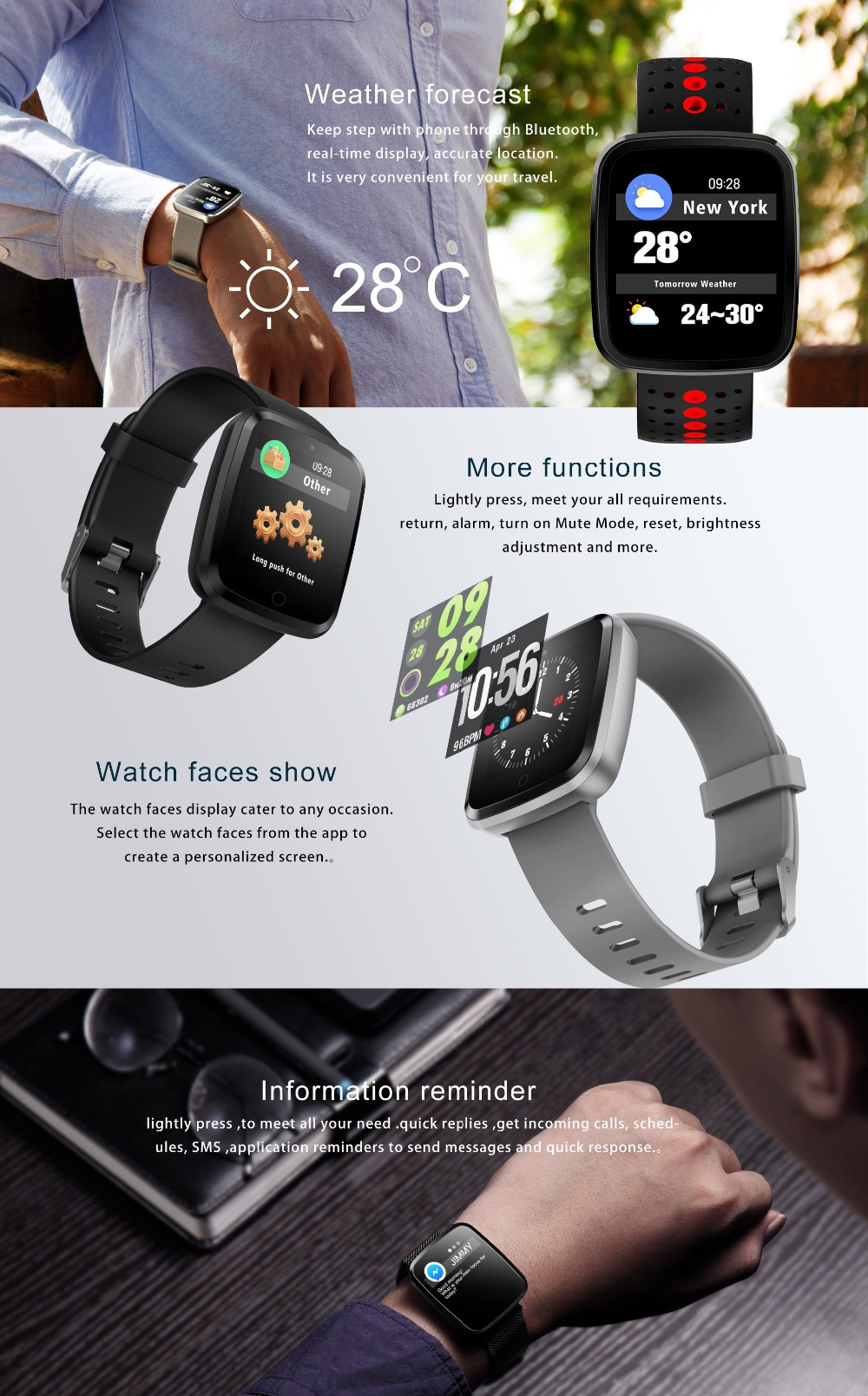 NAIKU Smart Bracelet V6 Pro Color Screen Waterproof Wristband Heart Rate Monitor Blood Pressure Measure Fitness Tracker Band 6