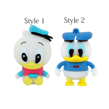 cartoon role Donald Duck USB Flash Drive cartoon Pen drive 8gb 16gb 32gb cool Gift Animal pendrives usb creativo
