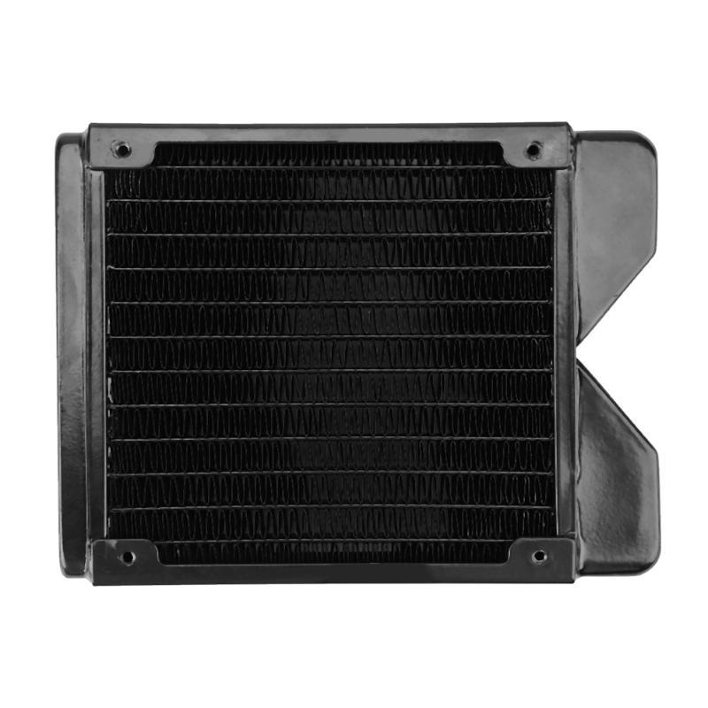 120mm copper Computer Radiator Water Cooling Radiator Water Cooler Heat Exchanger CPU Heat Sink For Laptop Desktop<br>