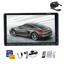 Autoradio Music Receiver Video System Double Din Radio USB Player Stereo GPS Car DVD EQ Audio Logo iPod RDS Camera