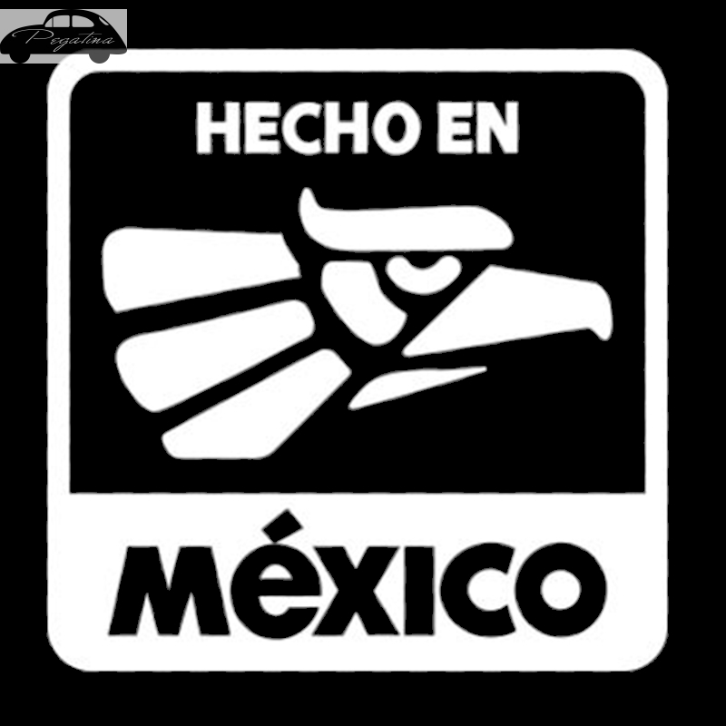 Pegatina Made in Mexico Decal Hecho En Mexico Sticker Car Window Vinyl Decal Funny Poster Motorcycle