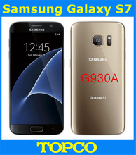 "Samsung Galaxy S7 G930A Original Unlocked 4G LTE GSM Android Mobile Phone Quad Core 5.1"" 12MP RAM 4GB ROM 32GB Dropshipping(China)"