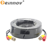 EINNOV 5M/10M/18M/30M Security Camera Video Power Cable Cord BNC RCA Wire for DVR in CCTV system for Surveillance DVR Kit
