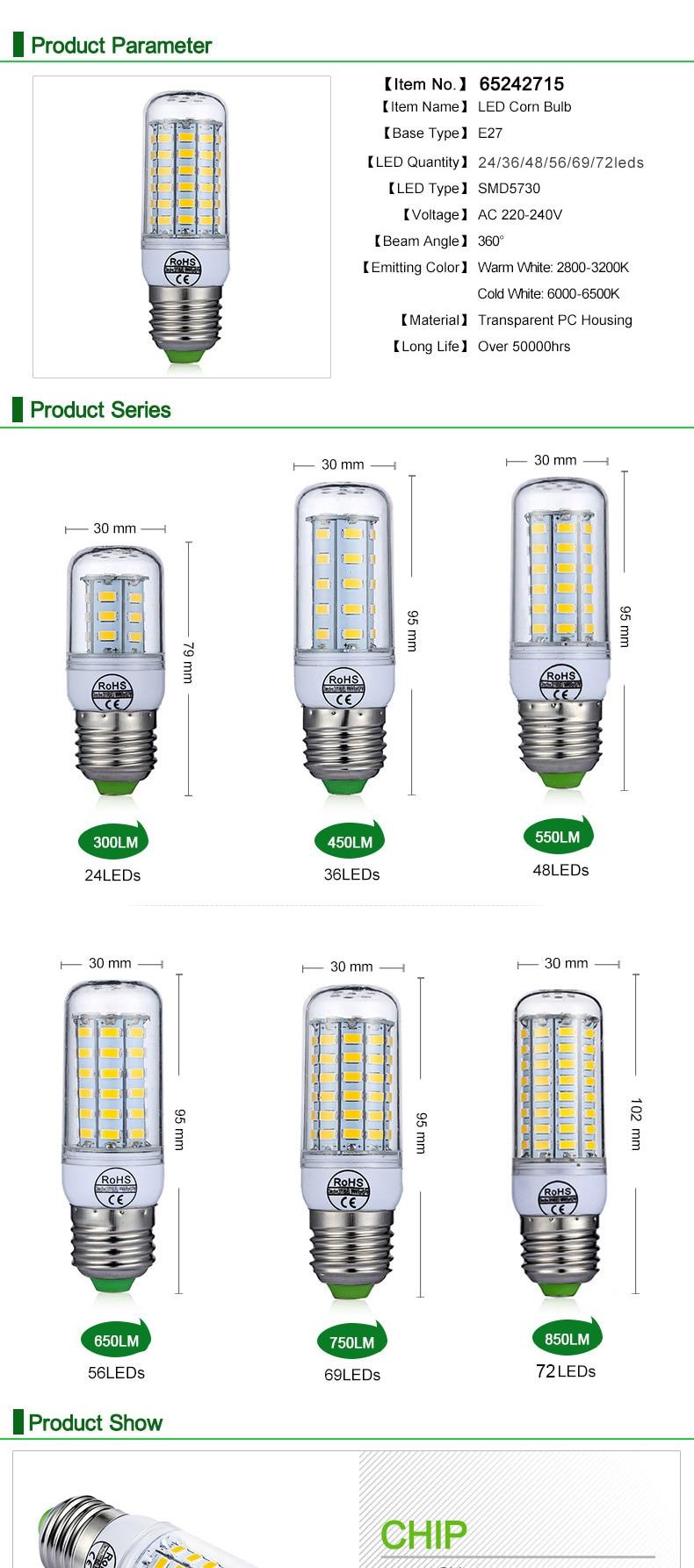 65 LED light