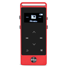 BENJIE S5 Real 8GB Lossless HiFi MP3 Music Player Touch Screen High Sound Quality Metal MP3 E-Book FM Radio Clock Data