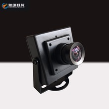 Mini pinhole camera black color with 4pin aviation connector camera sonyccd chip
