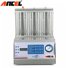 Official Ancel AIC601 Car Ultrasonic Fuel Injector Cleaner Tester 6 Cylindersl Better than CNC-602A Injector Washing Tool