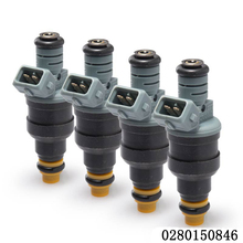 hot sale 4pcs/Lots High performance 1600cc CNG fuel injector 0280150842 0280150846 for ford racing car truck