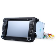 7 Inch Double Din Car DVD Player 2 Din WCE Car GPS Map DVD Build-in-Mic Bluetooth In dash Car Video Player for Volkswagen VW