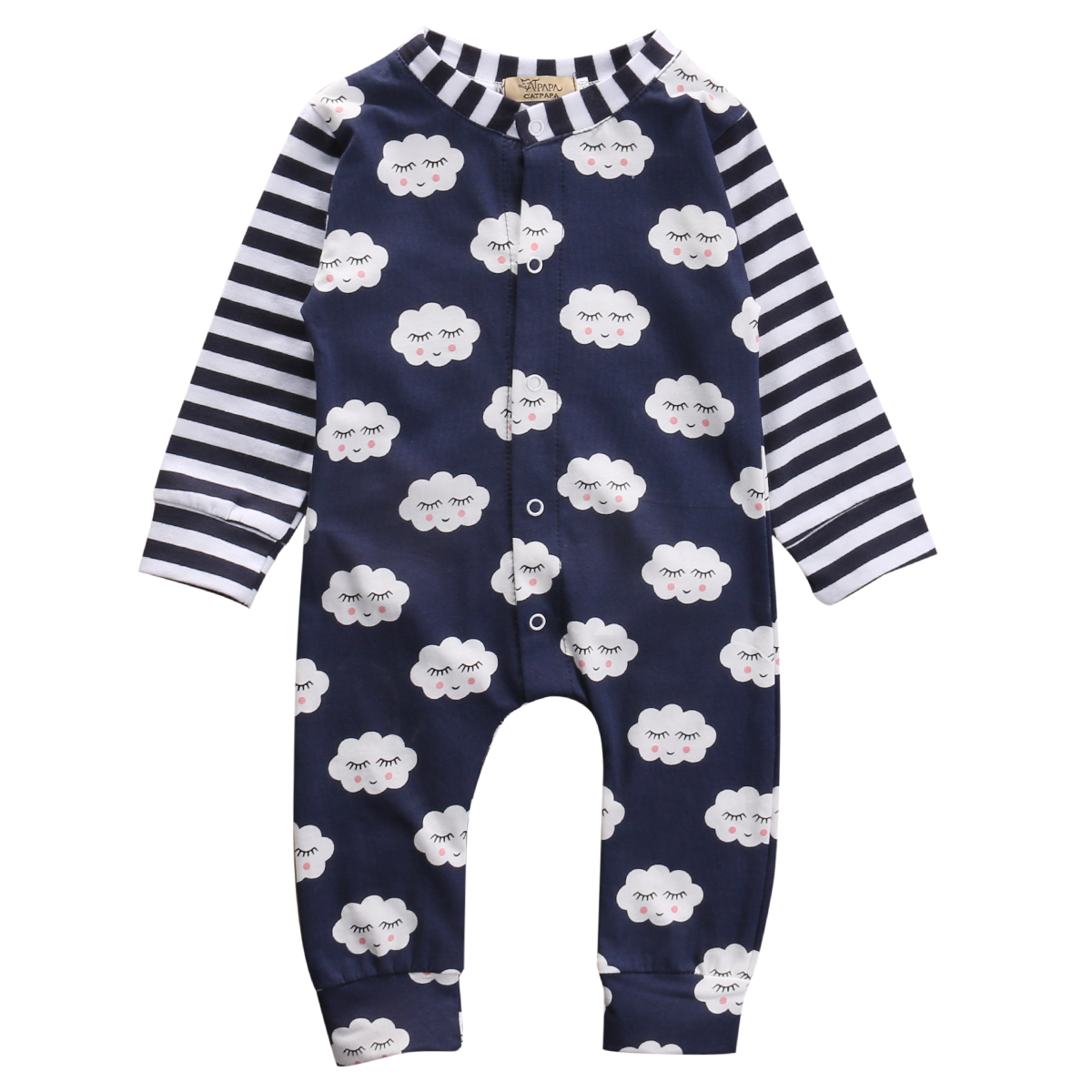 Baby Romper 2016 Autumn Winter Fleece Long Sleeve Baby Boy Girl Clothes One Piece Jumpsuit Underwear Baby Clothing
