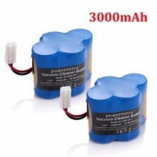 2pcs Powerextra 3000mAh Replacement Battery For Shark Cordless Sweeper Tools VX1 V1930 Euro Pro X1725QN V1700Z