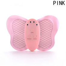 NEW Mini Slimming Pink Body Electronic /muscle Massage Butterfly Design  Weight Loss Device Burning Fat Body Massage