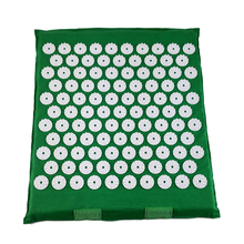 rolled or flat cotton ABS spike massage cushion acupressure mat shakti mat relieve body pain improve sleep drop shipping