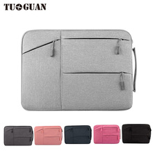 TUGUAN Fashion Business Waterproof Portable Handbags Laptop Bags Case Briefcases for Men/Women Air Pro By 15.6 Inches