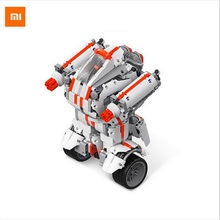 Xiaomi Robot building Block Mi Bunny Intelligent Robot Bluetooth Mobile Remote Control 978 Spare Parts Self-balance System(China)