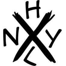 13.3X15CM NEW YORK HARD CORE Originality Car-styling Vinyl Decal Car Sticker S8-0764(China)