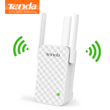 Tenda A12 300Mbps WiFi Repeater Wireless Range Extender Wi-Fi Signal Amplifier Expander, Perfect Partner of Wireless WiFi Router(China)