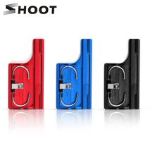 SHOOT Aluminum Alloy Latch Rear Snap Lock Buckle Clip for GoPro Hero 3+ 4 Protective Waterproof Housing Case Camera Accessories