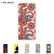 For Fly IQ4516 Tornado Slim Octa 4.8 inch Soft TPU Silicone Cellphone Case Mask Color Paint Protective DIY Cover Skin Bag Free