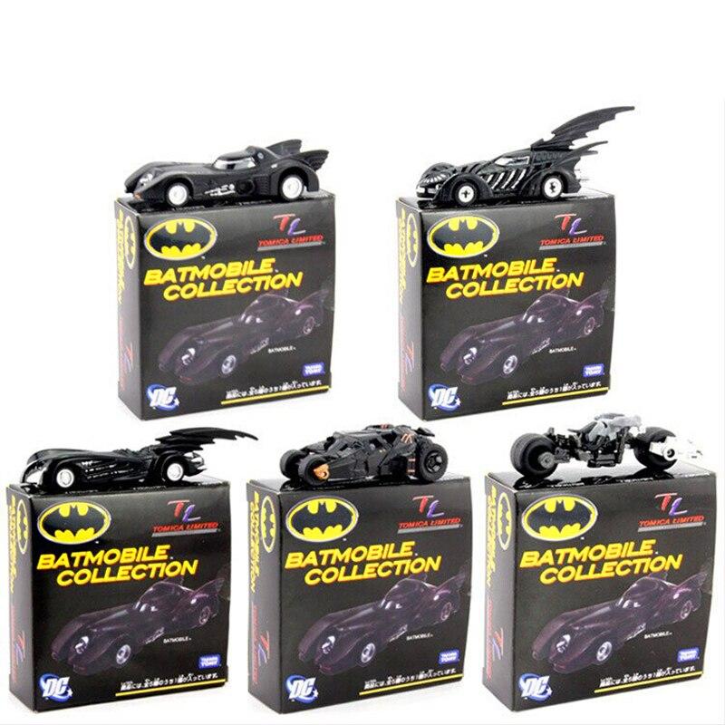 DC Tomica Limited TC Batman Metal Batmobile Collectible Model Toys 7cm/2.8 5pcs/set New in Box E004<br><br>Aliexpress