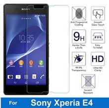 Bainov 9H Screen Protector Explosion-Proof On Phone Tempered Glass Film For Sony Xperia E4 E2105 E2114 E2115 E2124 dual 5.0""