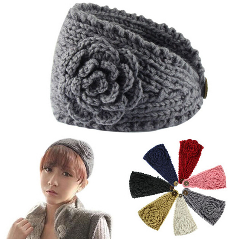 Free Knit Headband Pattern With Flower Image Collections Knitting