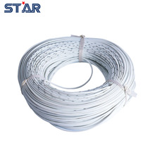 100m White Color  150/0.08TS 3MM Soft LED Strip Lights Connect Extension Silicone Wire, PVC insulated wire, AWG Electric Cord