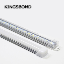 5pcs*50cm DC12V 50CM 50CM 5630 LED Hard Rigid LED Strip Bar Light white warm white for indoor lighting(China)
