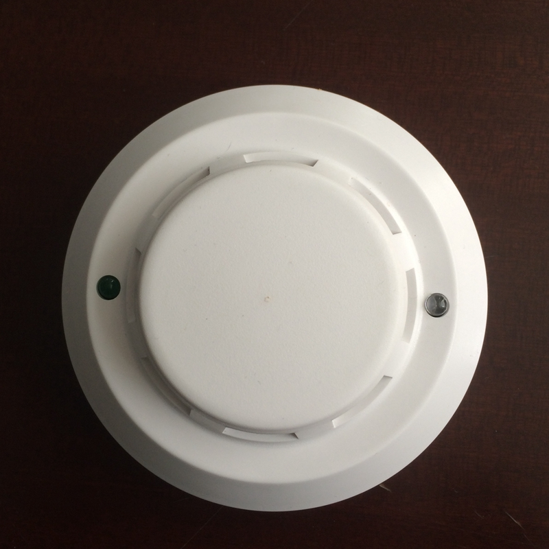 2 Wire DC24V Photoelectric Smoke Detector For Fire Alarm System 8