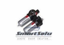 Free Shipping Airtac 3/8 BFC3000 Air Filter+Regulator+Lubricator FLR Units 5pcs In Lot<br>