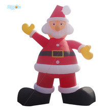Christmas Inflatable Santa Claus Christmas Decorations for Advertising New Year Gift Outdoor Inflatable Statues(China)