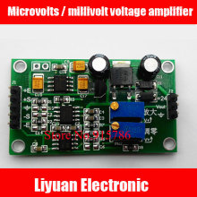Microvolts / millivolt voltage amplifier / high-precision differential signal amplifier / AD620 conversion transmitter(China)