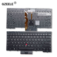 GZEELE NEW US laptop Keyboard for LENOVO FOR IBM ThinkPad T430 T430I T430S X230 X230I X230T T530 T530I W530 L430 L530 BLACK NEW(China)