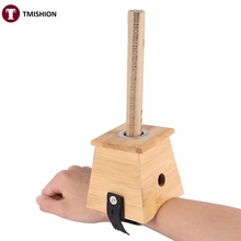 Bamboo Moxa Moxibustion Box Acupuncture Relaxation Roll Stick Holder Neck Arm Body Acupoint Massage Device Moxibuting Tool(China)
