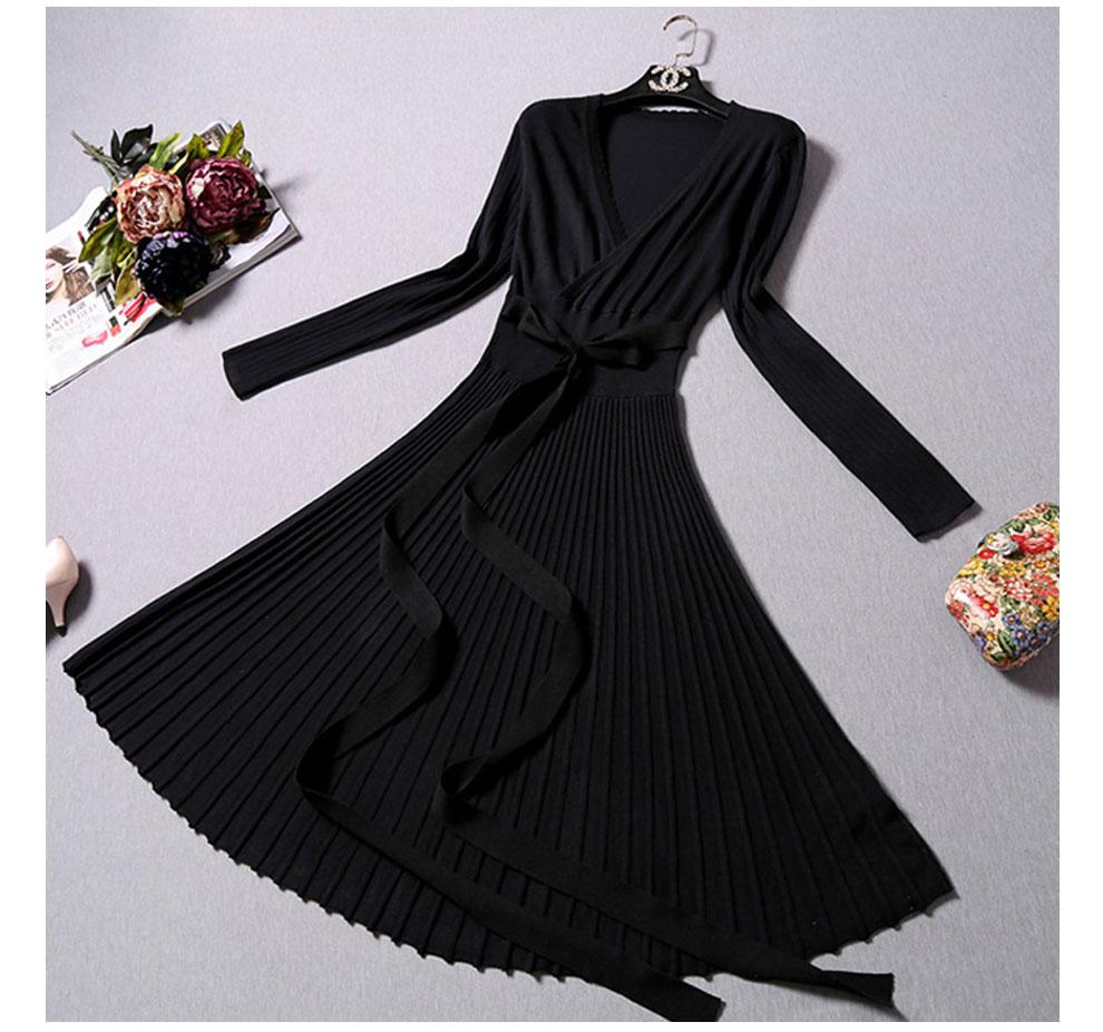 Pikkade varrukatega kleidid