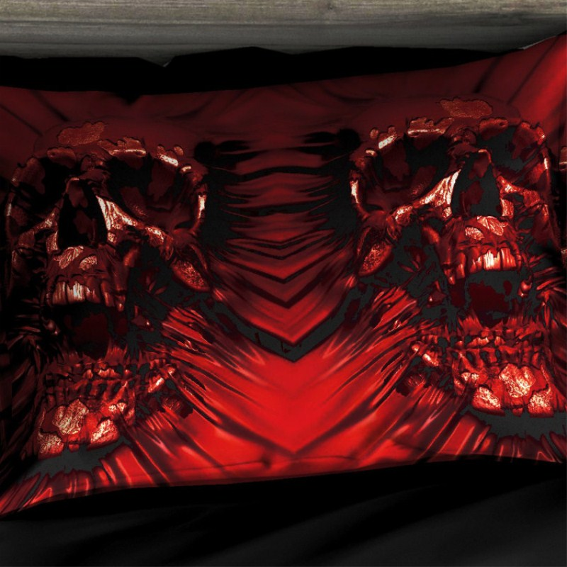 skull bedding sets (6)_