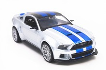 Maisto 1:24 Need For Speed 2014 Ford Mustang Diecast Model Car Toy New
