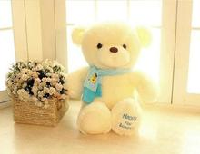 On Sale Plush Toys Lovely Teddy Bear 80 cm Doll The Wedding Gift Lovers Gift new year gift(China)