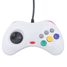 2017 New Wired Gamepad USB Classic Game Controller Gamepad Joypad for PC For Sega for Saturn System Style for PC Hot sale