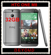 "HTC One M8 Original Unlocked GSM 4G LTE Android Quad-core RAM 2GB ROM 32GB Mobile Phone 5.0"" WIFI GPS 4MP dropshipping(China)"