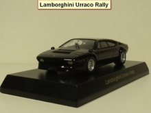 kyosho 1:64 Urraco Rally Diecast car model(China)