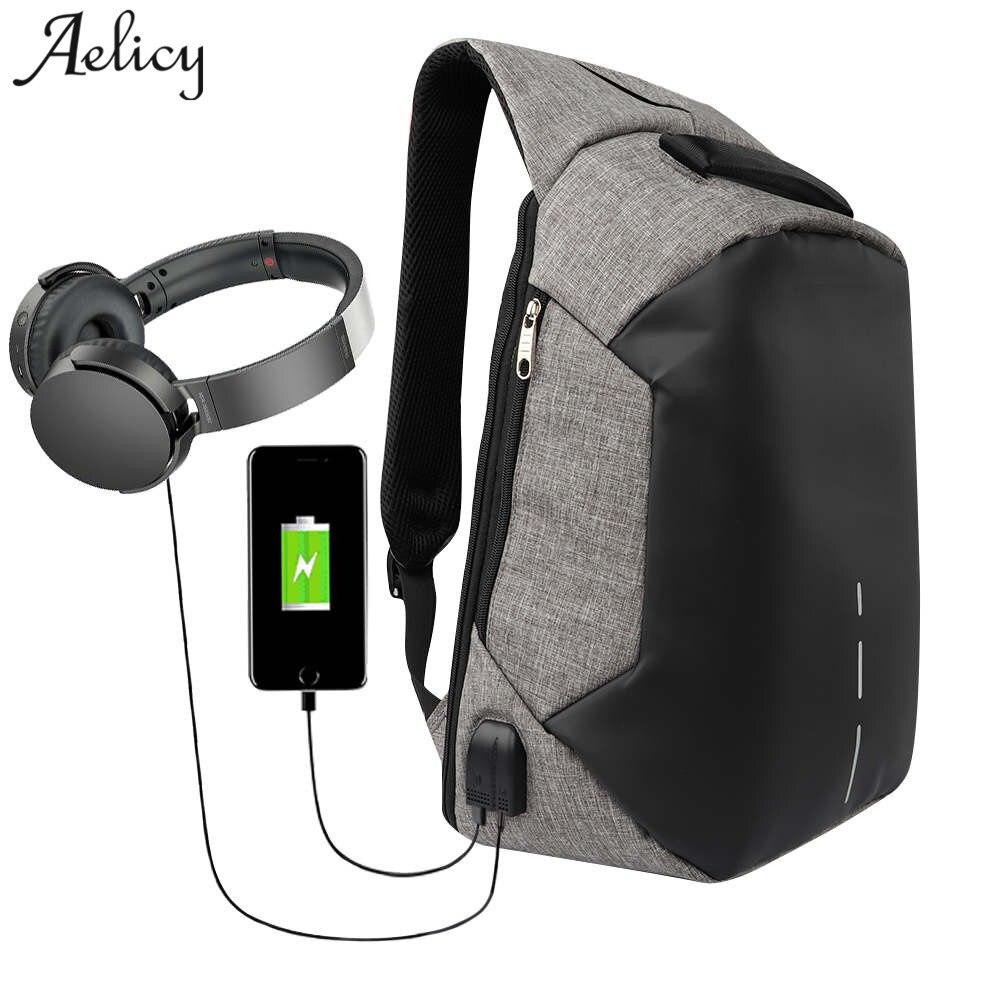 Multifunction men backpacks usb charging backpack anti-theft homme laptop waterproof bags mochila school travel bag anti thief<br>