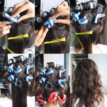 10PCS Curler Makers Soft Foam Bendy Twist Curls DIY Styling Hair Rollers Sep 29
