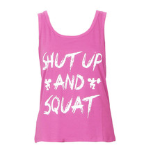 Women Summer Vest Workout Tank Top T-shirt - Gym center indoor use trainning  Clothes Fitness Yoga Lift