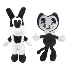 Bendy Plush Toy Bendy and the ink machine Doll Boris Game Series Soft Stuffed Animal Toys Christmas Best Gifts For Kids(China)